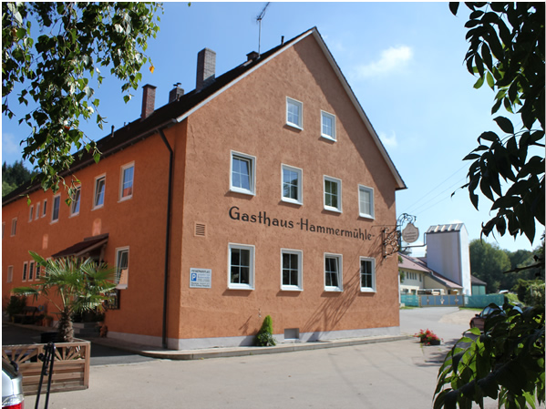 Hotel and Country-Restaurant Hammermuehle in Donaustauf close to Regensburg